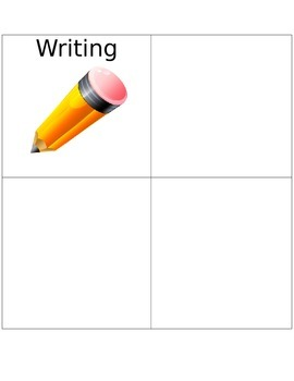 Literacy Center Labels -Writing