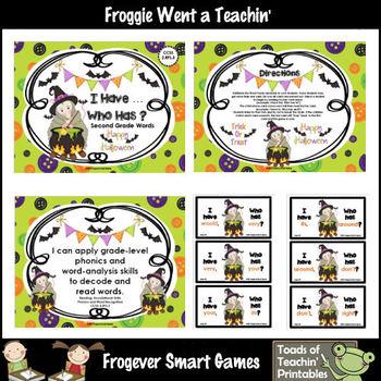 Literacy Center--Lil Possum's Halloween Mega Bundle 220 Dolch Words