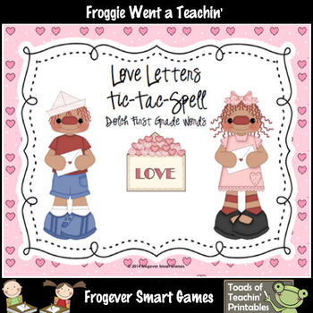Valentine's Day--Love Letters Tic-Tac-Read and Tic-Tac Spe