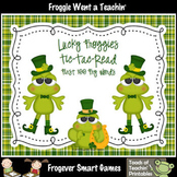 St.Patrick's Day--Lucky Froggies Tic-Tac-Read First 100 Fry Words