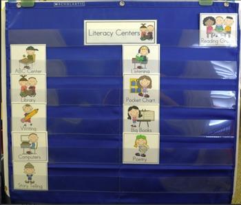 Literacy Center Management Board FREEBIE