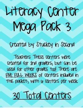 Literacy Center Mega Pack #3 (30 centers!)