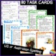 Language Task Cards and Charts NOUNS VERBS ADJECTIVES ADVE