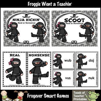 Nonsense Words--Ninja Kickin' Real or Nonsense?