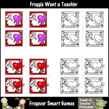 First 100 Fry Words--Valentine's Day-OOPS! Sight Word Game