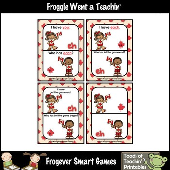Literacy Center--Oh Canada I Have... Who Has? 100 High Frequency Words
