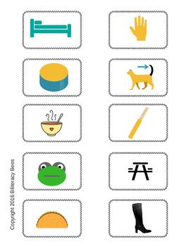 Literacy Center - Open Syllables in Spanish/Sílabas Abiertas en Español