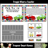 FRY WORDS--1st 100 Fry Sight Words--Park Your Car Sight Word Parking Lot