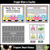 Fry Sight Words-- Park Your Car Sight Word Parking Lot (Second 100 Fry Words)