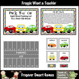 Literacy Center -- Park Your Car Sight Word Parking Lot (Third 100 Words)