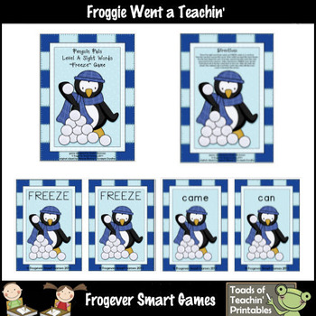 Sight Words--Penguin Pals Sight Words Level A