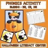 Literacy Center Phonics Activity Blends Cr, Br, Dr  Hallow