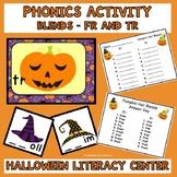 Literacy Center Phonics Activity Blends Fr and Tr  Hallowe