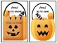 Literacy Center Phonics Activity Sounds of OW Halloween Theme