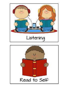 Literacy Center Picture Cards FREEBIE!!