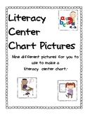 Literacy Center Picture and Picture/Word Labels