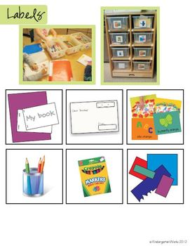 Literacy Center Posters