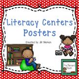 Classroom Decor: Editable Literacy Center Posters