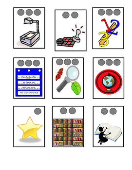 Literacy Center Posters and Student Labels