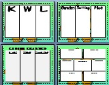 Literacy Center Printables: 19 Common Core Aligned Reading and Writing Templates