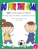 Literacy Center Punctuation Marks Treasures Reading Series Soccer
