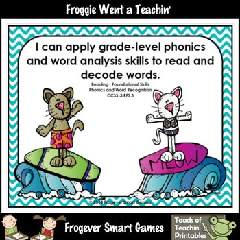 Literacy Center--Purrfect Waves 220 Dolch Words Bump Games Mega Bundle