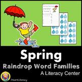 Spring Literacy Center - Raindrop Word Families