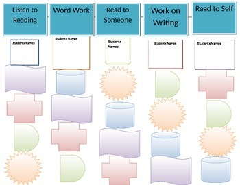 Literacy Center Rotation