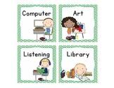 Literacy Center Rotation Cards