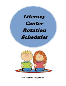 Literacy Center Rotation Schedules