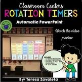 Literacy Center Rotations Timer
