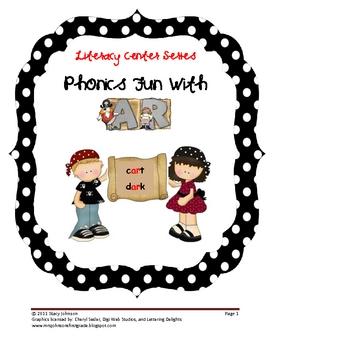 Literacy Center Series:  Phonics Fun with AR