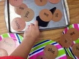 Literacy Center Sight Word Pancakes