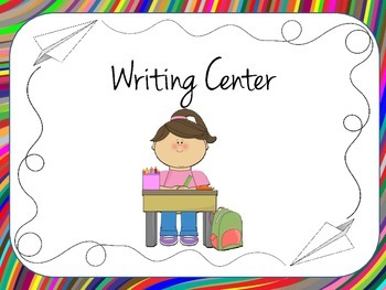 Literacy Center Signs and Pocket Chart Schedule Cards
