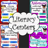 Literacy Center Sorts: Synonyms, Antonyms, and Homophones