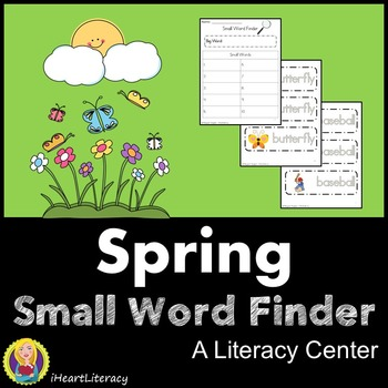 Spring Literacy Center - Small Word Finder