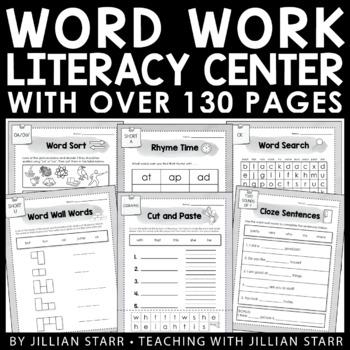 Literacy Center Start-Up Kit Bundle