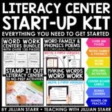 Literacy Center Start-Up Kit Bundle