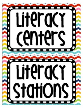 Literacy Center / Station Management