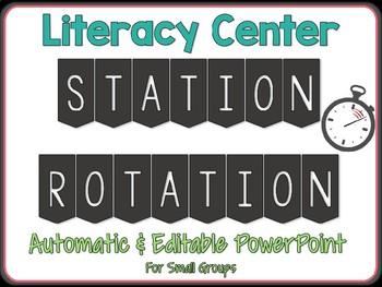 Literacy Center Station Rotation PPT