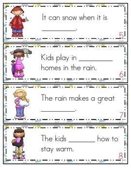 Stormy Weather Sight Word Pack First Grade Treasures Reading Literacy Center