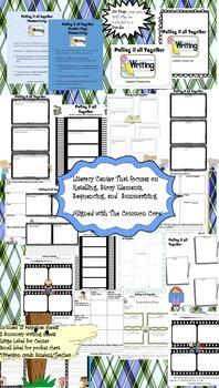 Literacy Center #3 (Summarizing, Retelling, Story Elements