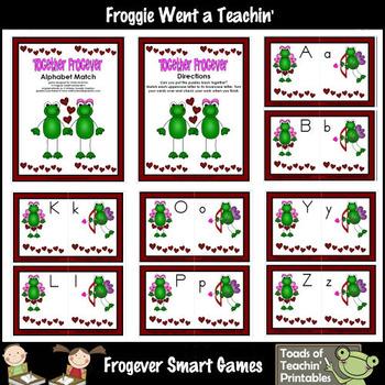 Valentine's Day--Together Frogever Alphabet