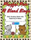 Playful Pets: Pet Tricks R Blends Bingo Literacy Center Tr