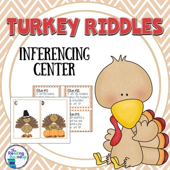 Inferencing Literacy Center:  Turkey Riddles