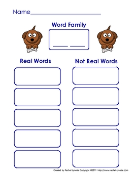 """Literacy Center Word Building with Short """"o"""" CVC Word Families"""