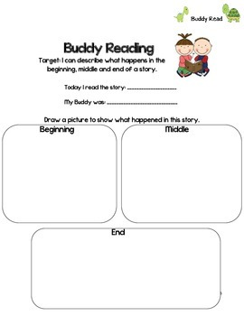Literacy Center Worksheets/Recording Sheets