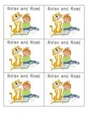 Literacy Center/Station Activity Schedule Cards