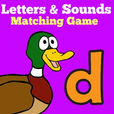 Letters and Sounds Game Kindergarten