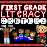 First Grade Literacy Centers | First Day of School Activities